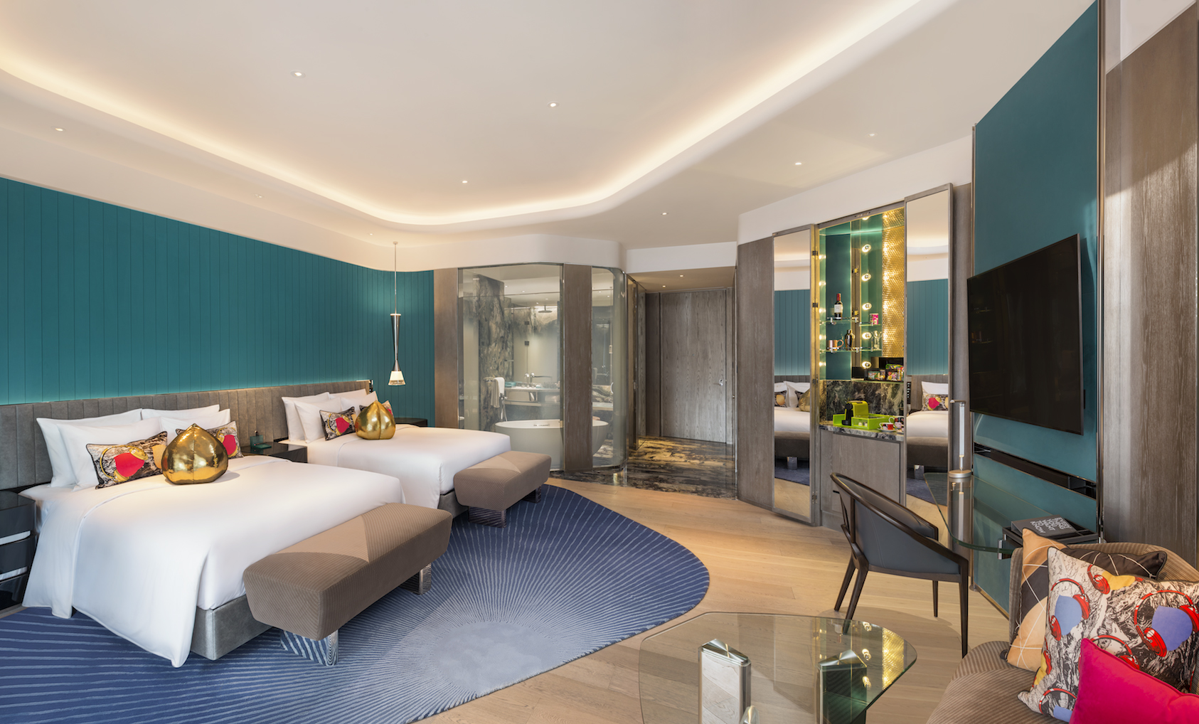 Ab concept combines china s past and future for w xi an for Design hotel xian