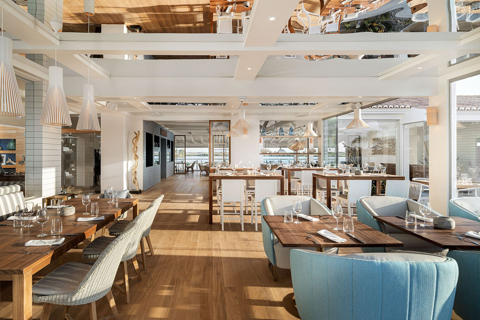 Quinta Do Lago S Restaurant Reveals New Nautical Interiors Sephina