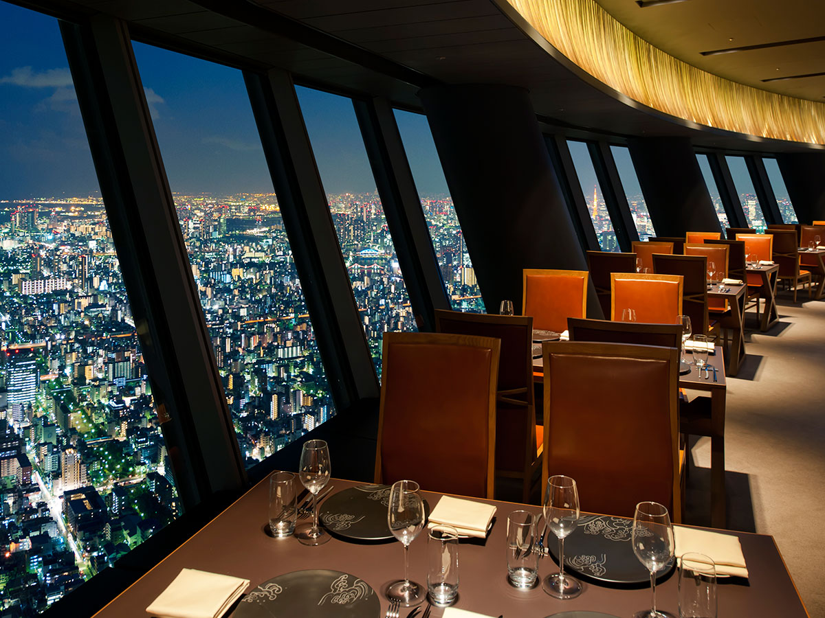 Worlds Best Restaurants With A View DesignCurial - 7 of the coolest restaurants in tokyo