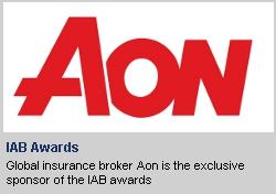 Aon sponsors IAB awards