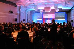 Delegates at the Leasing Life European Awards Dinner 2011, Munich
