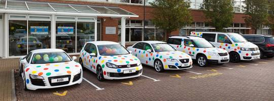 Volkswagen Financial Services Milton Keynes call centre supports Children in Need