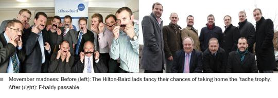 Photograph of Hilton-Baird staff
