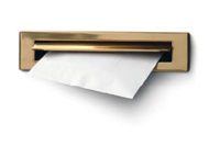 Image of a letter coming through a letterbox