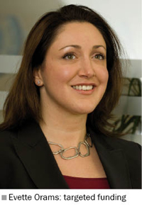 Photo of Evette Orams, managing director of Hilton-Baird Financial Solutions