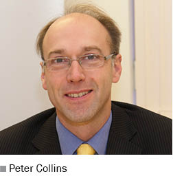 Peter Collins, managing director of MAN Financial Services UK
