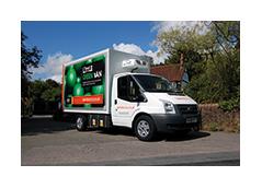Sinsbury's new elctronic van
