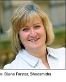 Photo of Diane Forster, Shoosmiths