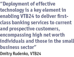 Quote from Dmitry Rudenko, VTB24