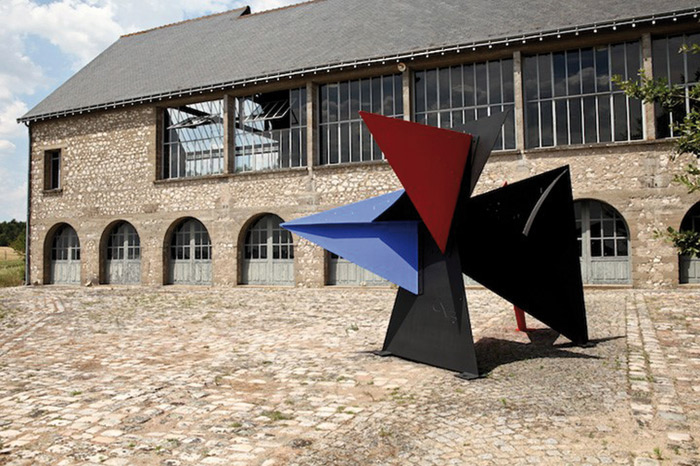 Calder's studio and home in Saché, France