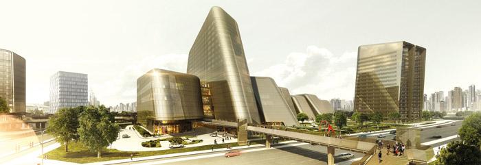 Aedas's attempt to design a huge retail development
