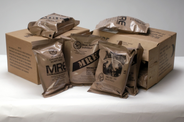 military ration packs