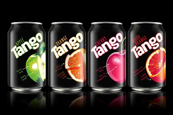 Brandhouse Redesigns British Soft Drink Brand Tango