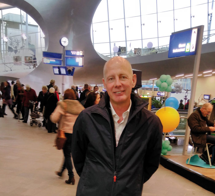Ben van Berkel at Arnhem Central. Photo: Herbert Wright