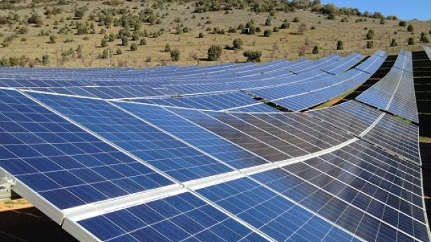 Great The Solar Power Plants Will Be Built Near Corte And Castifao, On The French  Island Of Corsica.