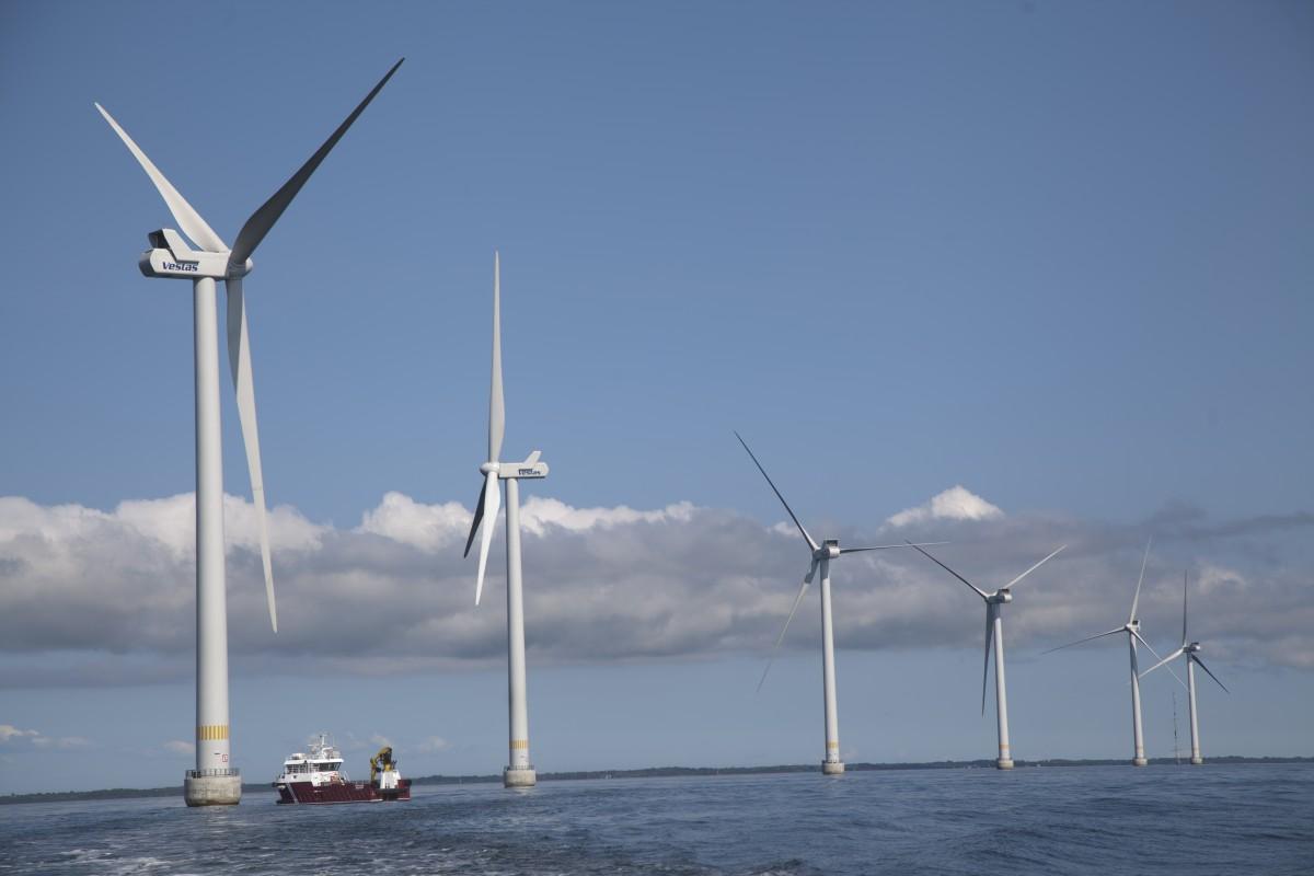 Vestas turbines