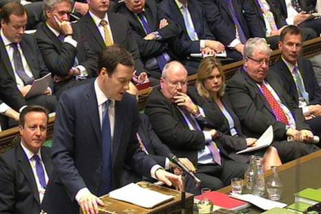 Chancellor George Osborne - 2016 Budget