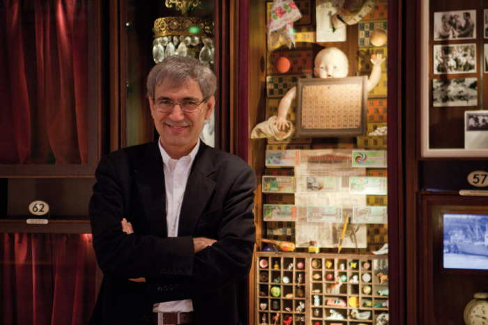 Orhan Pamuk. Photo: The Museum Of Innocence