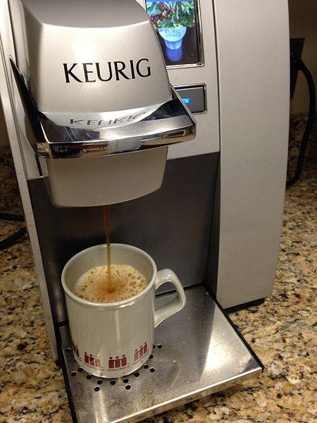Keurig coffee brewing machine
