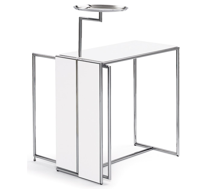 E 1027 side table by Eileen Gray