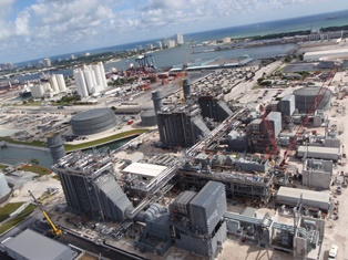 The Port Everglades Power Plant Has Been Developed To Replace The  1960s Era, Oil Fired Power Plant, Which Was Demolished By FPL In Mid 2013.