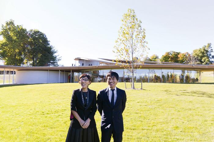 (l–r) Kazuyo Sejima and Ryue Nishizawa founders of SANAA. Image Credit: Iwan Baan