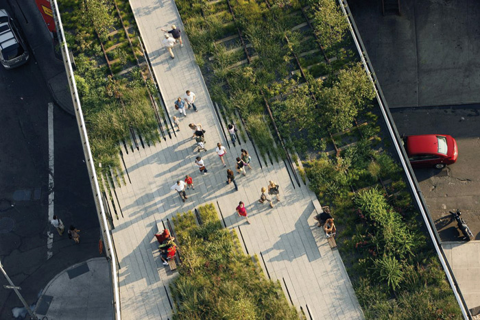 Though now hugely popular the High Line faced a lot of opposition in the early days. Photo: Iwan Baan