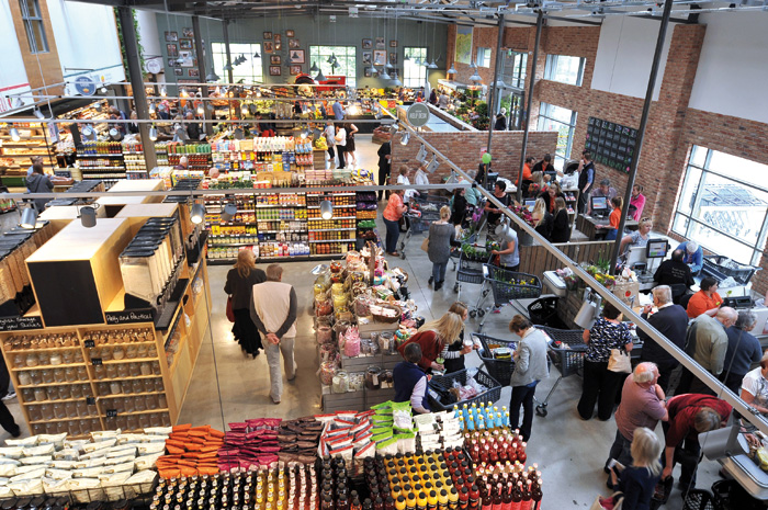 One-stop shopping at the Keelham Farm Shop