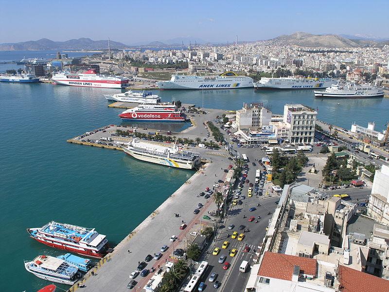Piraeus Port Greece