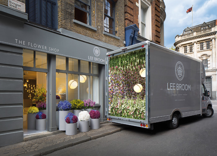 During the London Design Festival, the Lee Broom store in Shoreditch became The Flower Shop