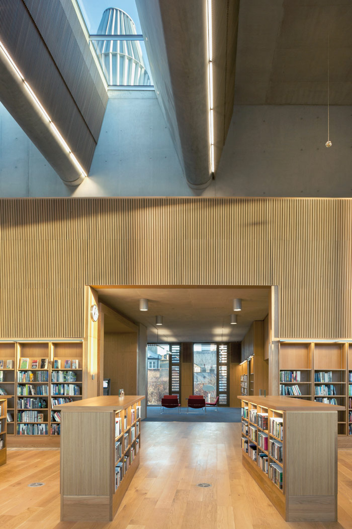 The new library is the first significant piece of public infrastructure in 100 years