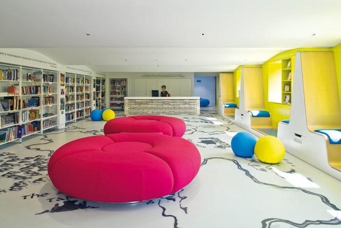 Thomas's school library, london