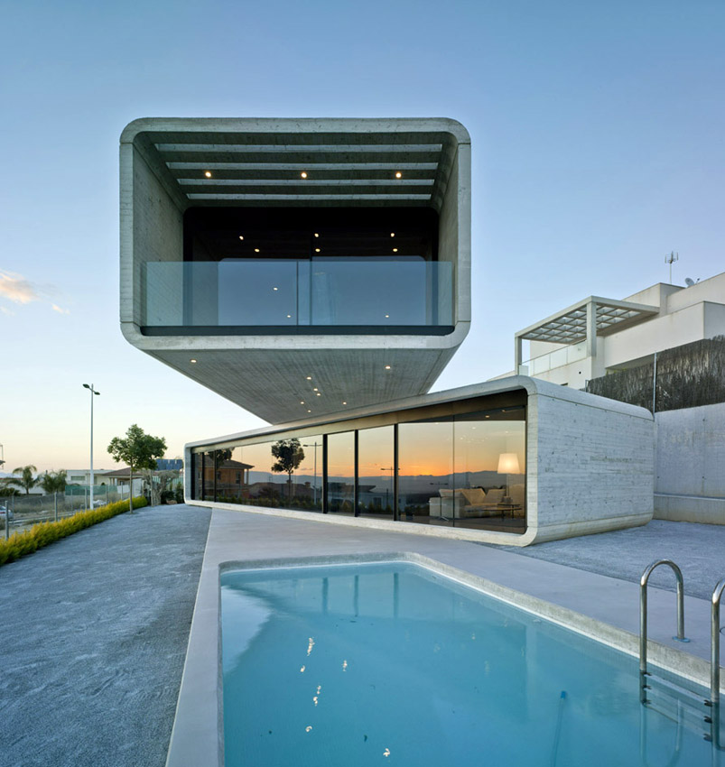 10 examples of modern architecture homes - DesignCurial on incredible house design, modern lake house designs, modern cantilevered house, cantilever roof design, modern house in mexico, bungalow flat roof houses design, modern home narrow lot house designs, cantilever steel beam design,