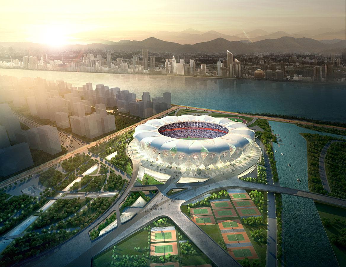 sports stadium design