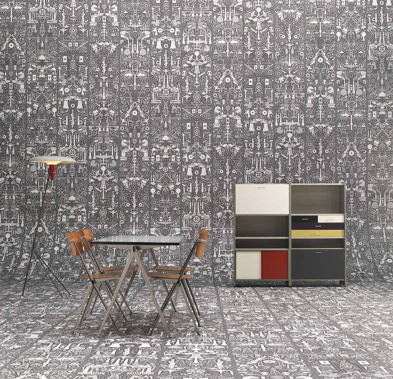 Industry wallpaper by Studio Job and NLXL