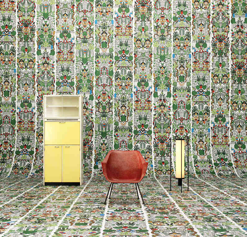 l'Afrique wallpaper by Studio Job and NLXL