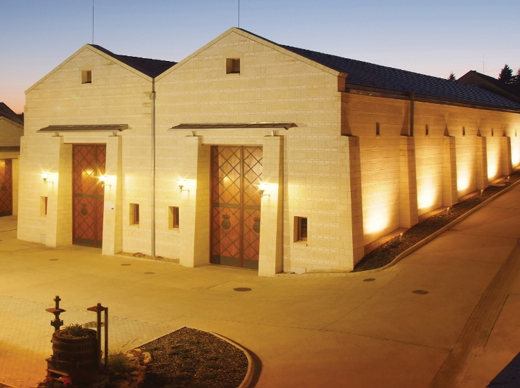 The smart new winery buildings opened in 2010 in Mád, the historic heart of Tokaj