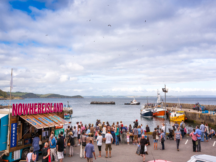 Situations/Alex Hartley's 2012 NowhereIsland toured the UK's south-west coast, inspiring thousands of seashore spectators to sign up as citizens, including Blueprint, and sparking public debates on citizenship wherever it went