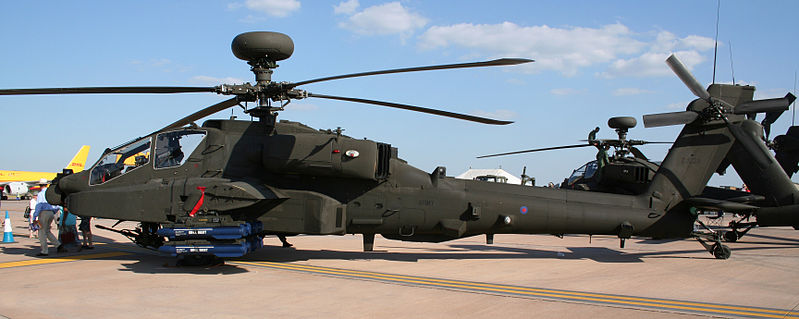 WAH64 Apache helicopter