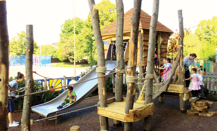 Made From Scratch has so far built eight playgrounds and one adventure playground