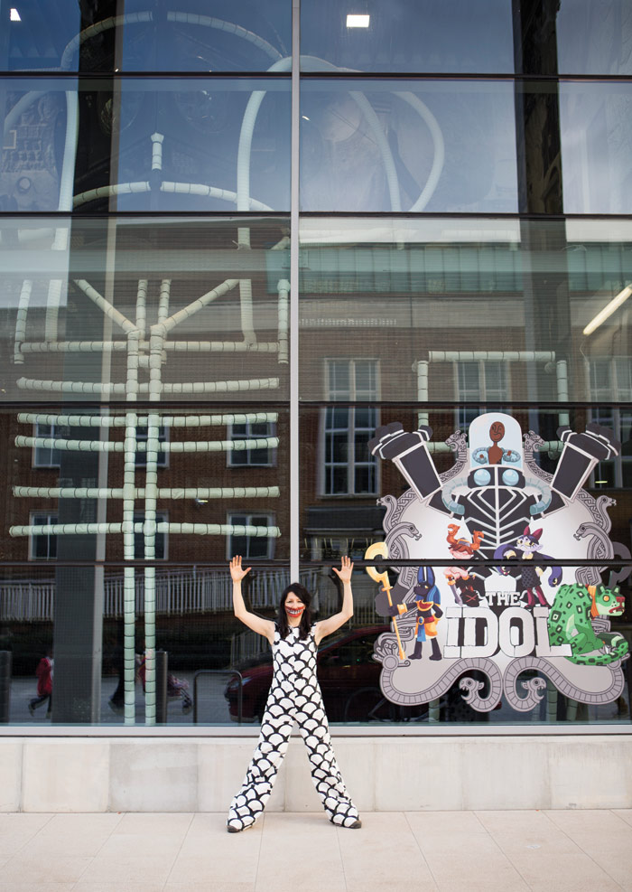 The Idol, an art sculpture and playspace by artist Marvin Gaye Chetwynd in Barking, 2015. Photo Credit: Emil Charlaff