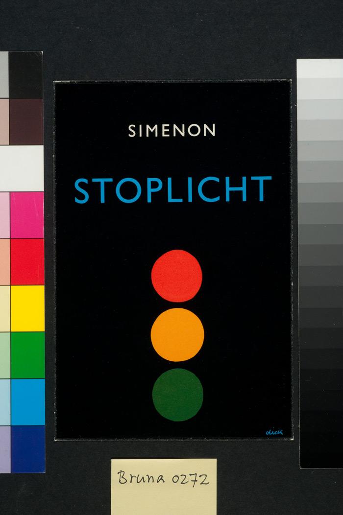 Georges Simenon's Stoplicht (1964). Photo:Dick Bruna, Centraal Museum Utrecht / Mercis BV