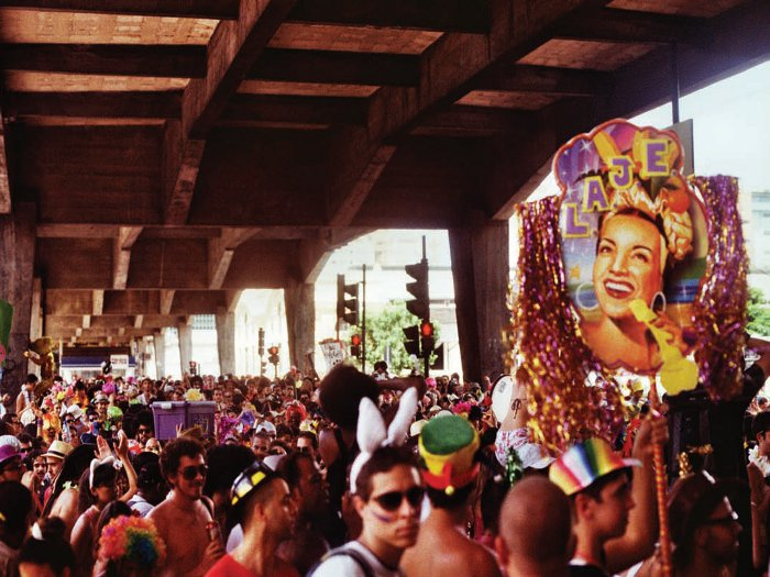 Carnaval in Belo Horizonte is characterised by theatrical displays that occupy public space in the city
