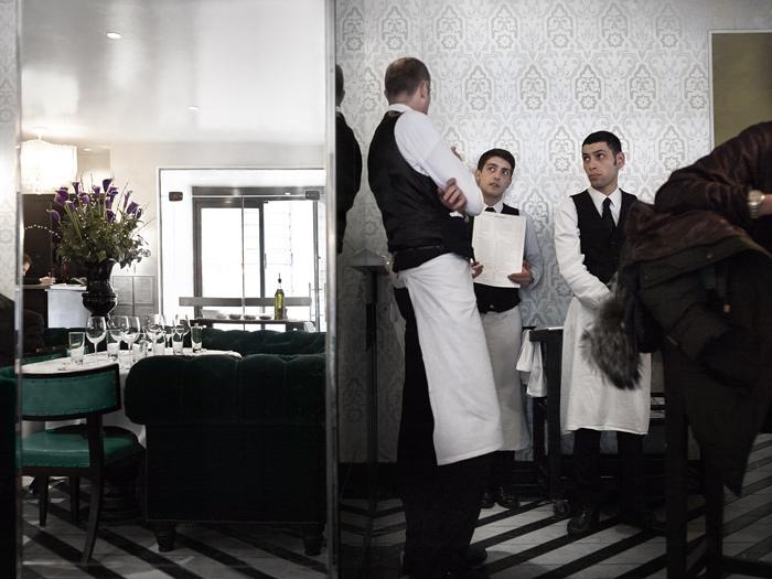 Cecconi's restaurant in the heart of Mayfair (2006). Photo: Julia Grassi