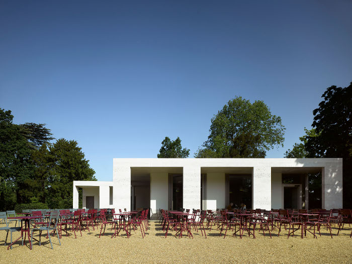 Chiswick House Cafe, opened in 2010, resulted from a rejected first design Courtesy Caruso St John