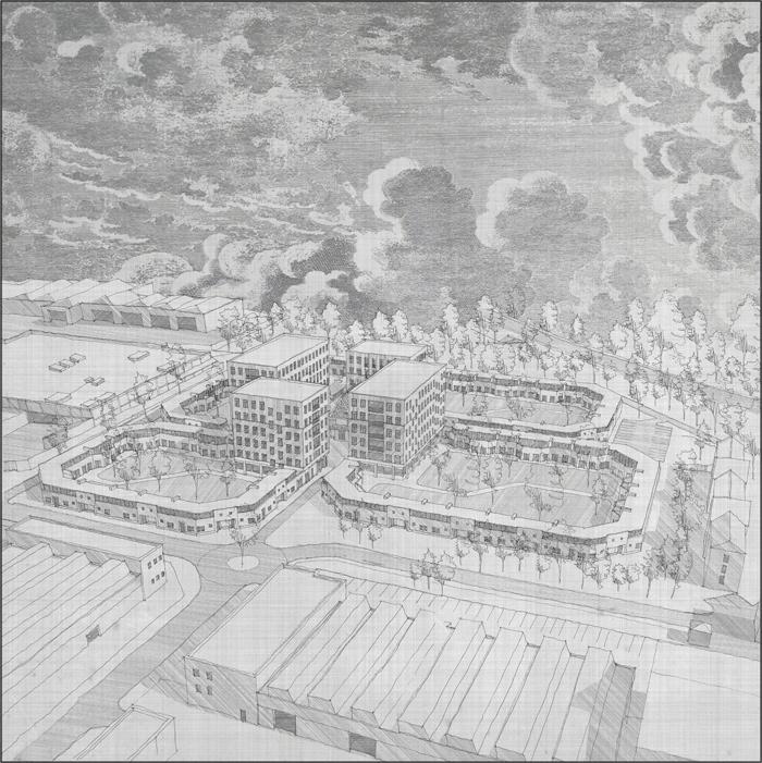 Jack Richards, London Metropolitan University, Architecture