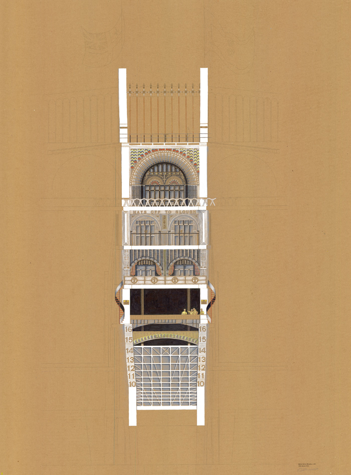 Amelia Hunter, Royal College of Art, Architecture