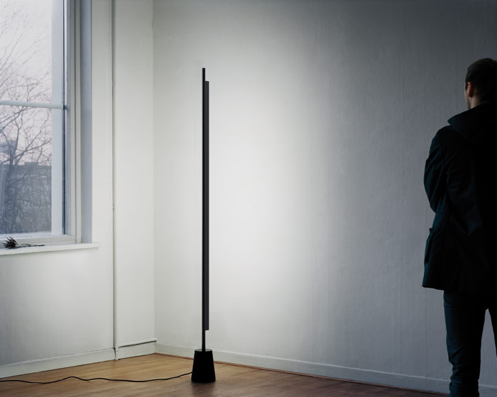 Daniel Rybakken's Compendium light, made in partnership with LucePlan, comes out of his focus on how to artificially recreate the appearance and effect of daylight. Phto credit: Portrait Magnus Johansson