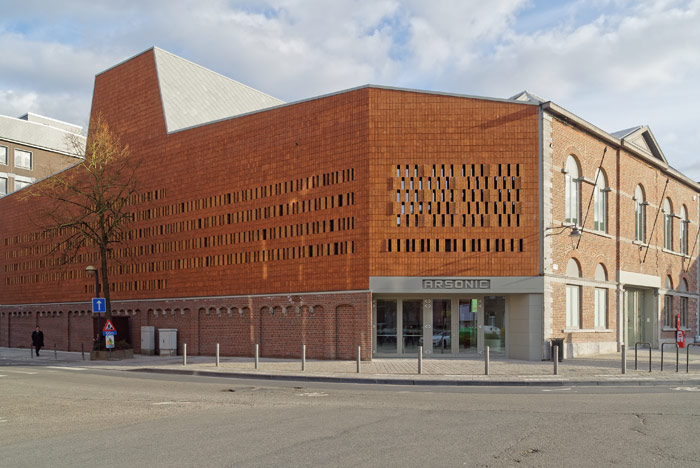 Mons' new concert hall is called Arsonic. Photo Credit: Holoffe Vermeersch