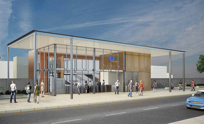 West Ealing station is getting a major overhaul